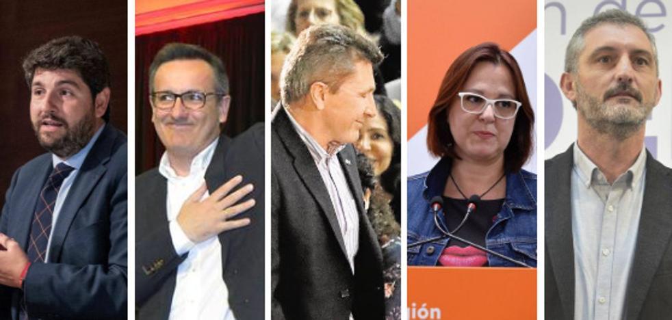 Los murcianos prefieren a Miras como presidente aunque valoran más a Conesa