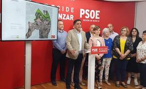El PSOE presenta el primer mapa de espacios públicos libres de Murcia