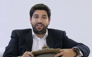 López Miras envía a través de un vídeo una carta abierta al millón y medio de personas de la Región