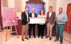 'Corre por Lorca' recauda 4.859 euros a beneficio de los niños que sufren cáncer