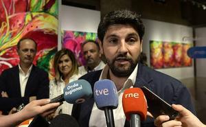 López Miras anuncia incentivos fiscales para impulsar los proyectos culturales