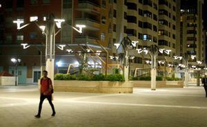 La instalación de la tecnología led en 6.000 puntos de luz reducirá a la mitad el consumo en electricidad en Murcia