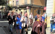 Peregrinación rociera en Lorca al paraje de El Consejero