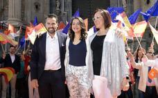 Mitin de Inés Arrimadas en Murcia