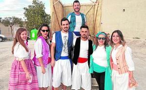Desfile huertano en Albudeite para honrar a San Isidro