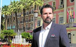 Mario Gómez, candidato de Cs a la alcaldía de Murcia: «No venimos a por sillones, sino a cambiar la forma de gestionar»