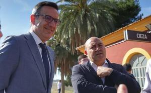 Diego Conesa asegura que con el PSOE el tren pasará soterrado por Murcia, Cartagena y Lorca