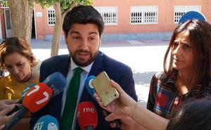 López Miras anuncia 100 millones de euros para modernizar los colegios e institutos