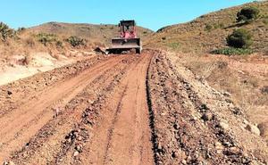Arrancan los trabajos de mejora de los dos caminos de acceso a Calblanque