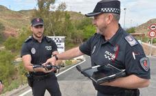 La Policía Local de Lorca se refuerza con un dron para luchar contra el vandalismo