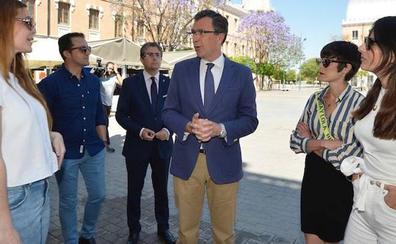 Ballesta propone instaurar residencias artísticas para apoyar el talento cultural joven