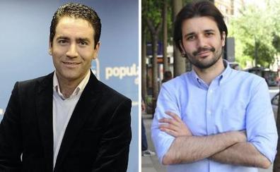 Teodoro García y Javier Sánchez, los diputados murcianos más influyentes en Twitter