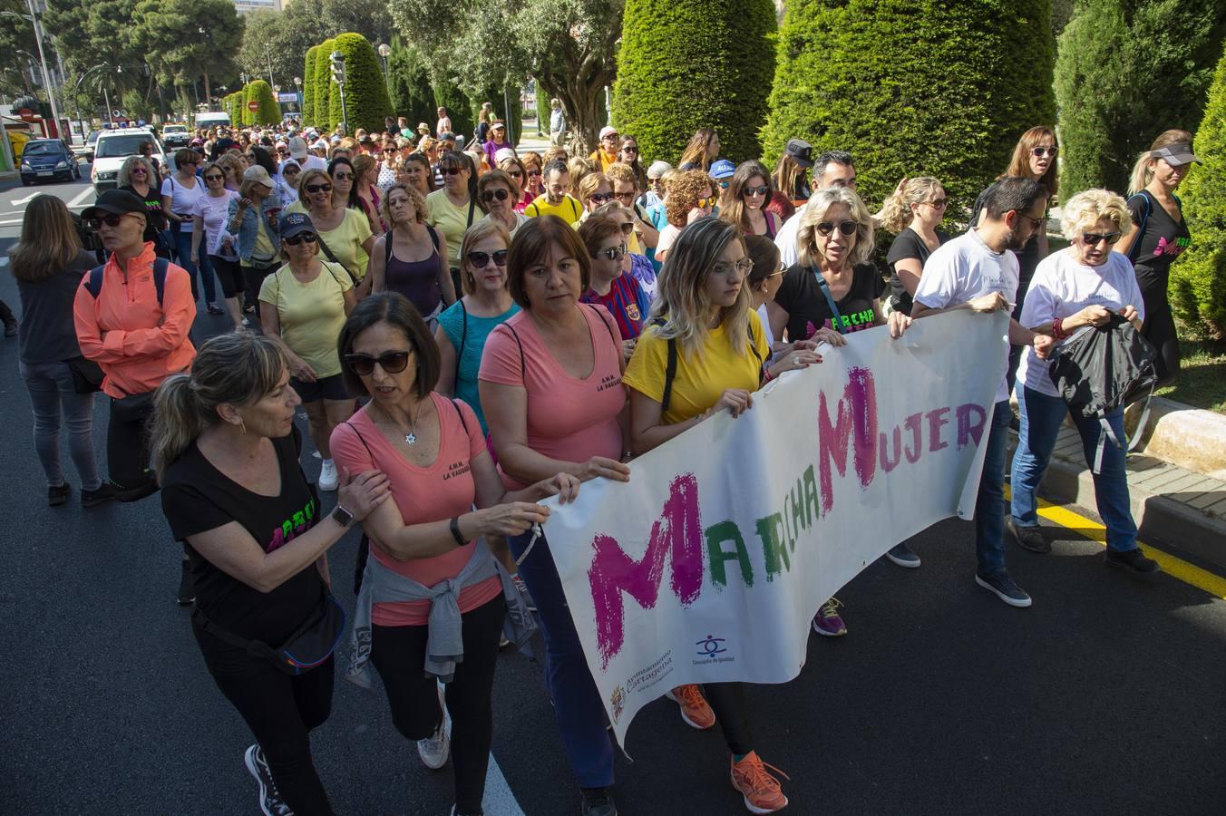 Marcha femenina por la endometriosis