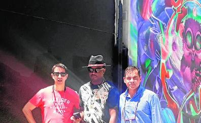 Arte internacional en el barrio de Santa María de Gracia