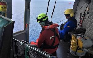 Se retira sin éxito el dispositivo de búsqueda de un buceador perdido en aguas de Cabo de Palos