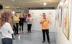 El Campus de Espinardo acoge la exposición 'Fragmentos de realidades' de Juan Heredia
