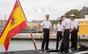 El Rey constata en Cartagena la efectividad de la Armada en el rescate de submarinos