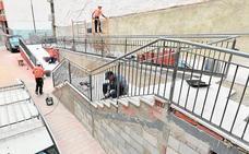 Mejoran en Lorca los accesos a San Cristóbal por la calle Ingeniero Betancourt