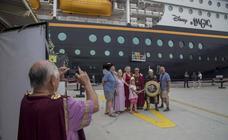 El 'Disney Magic' estrena la estrategia de captación de cruceros temáticos del Puerto