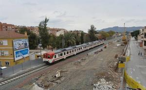 El coste final del soterramiento integral de las vías rondará los 425 millones de euros