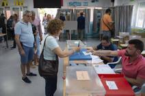Normalidad en la jornada electoral en Cartagena