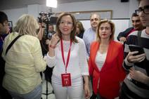 Noche electoral en el PSOE de Cartagena