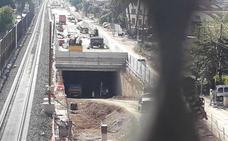 Aceleran la excavación para soterrar las vías en Murcia