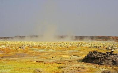 Los científicos encuentran vida en la zona más calurosa y extrema de la Tierra