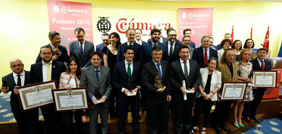 La Cámara de Comercio entrega sus premios en la Noche de la Economía