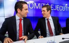 García Egea ya se ha visto con Cs y con Vox para empezar a hablar de pactos
