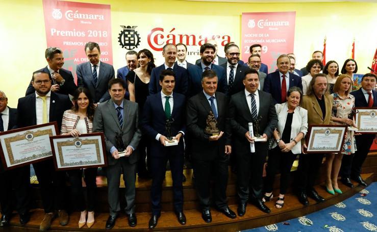 La Cámara de Comercio de Murcia entrega sus premios en la Noche de la Economía