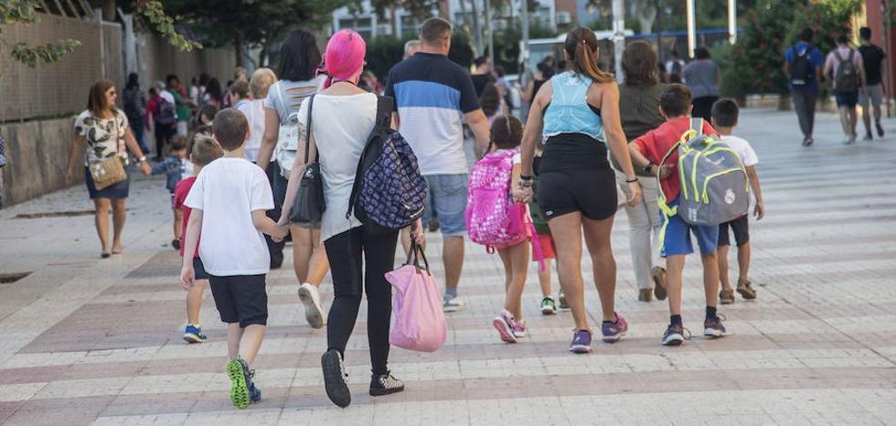 El próximo curso escolar arrancará en la Región de Murcia del 6 al 10 de septiembre