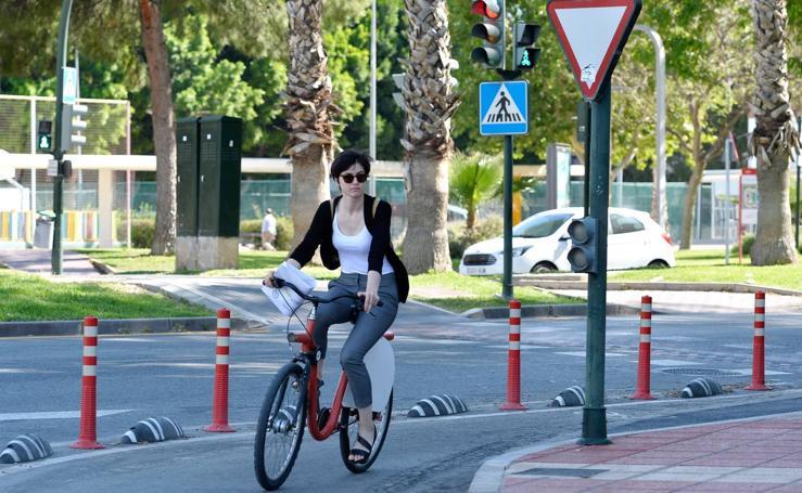 El Carmen tendrá un carril bici que unirá la estación con El Palmar y Alcantarilla