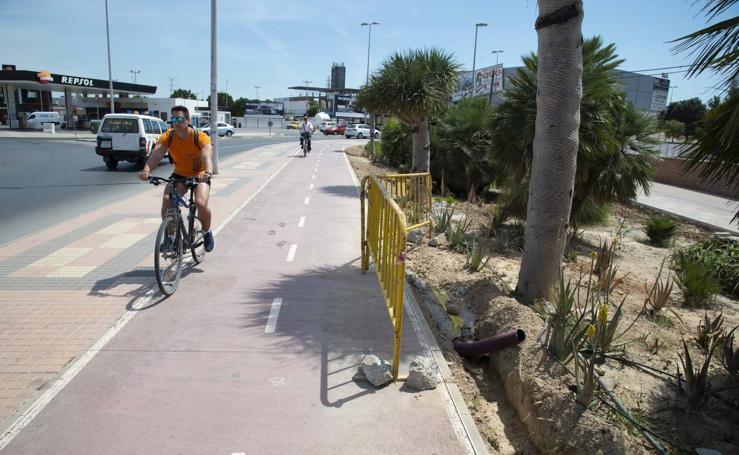 Peligro sobre ruedas en Cartagena