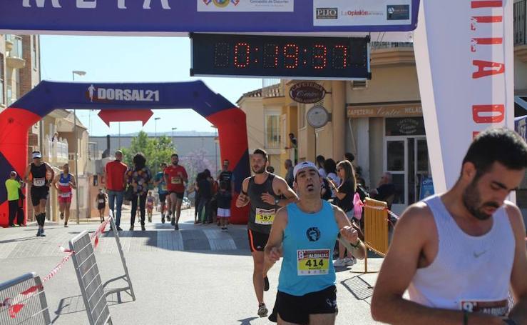 Francisco Mariano Martínez e Inma Pérez vencen en Alguazas