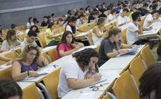 El número de alumnos que harán Selectividad en la Región aumenta de nuevo hasta alcanzar los 6.932