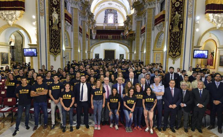 La UCAM celebra su gala del deporte