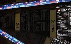El Ibex-35 se refuerza sobre los 9.100 en la víspera de la reunión del BCE
