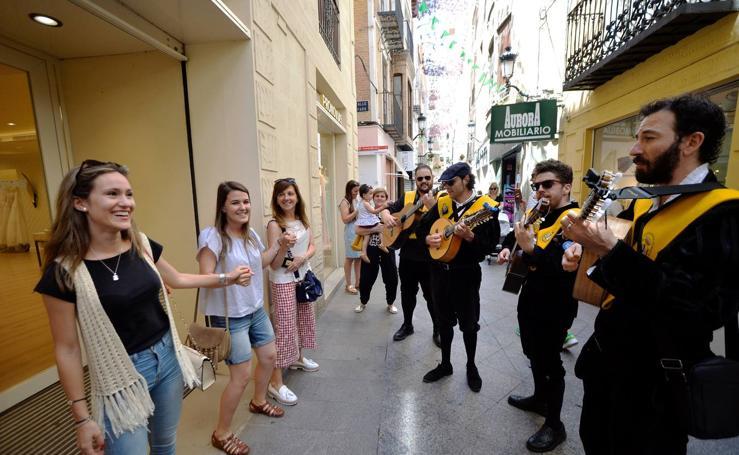 Compras a ritmo depandereta en Murcia