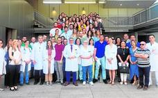 58 residentes para hospitales y centros de salud