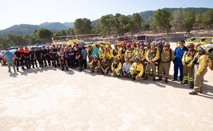 El Plan Infomur moviliza a 516 personas a diario para la lucha contra los incendios