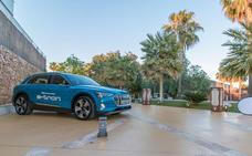 Huertas Motor estrena el Audi e-tron en dos eventos de altura