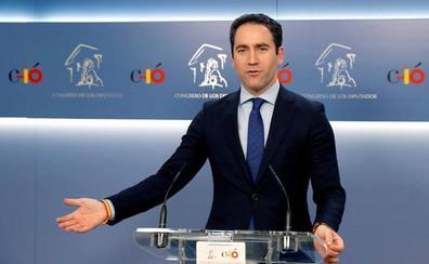 Egea acusa al PSOE de estar «desesperado» al ofrecerle la alcaldía de Murcia a Ciudadanos