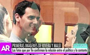 Pillados: Esta es la primera foto de Malú con Albert Rivera