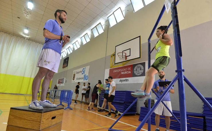 600 candidatos se enfrentan a las pruebas físicas para lograr una de las 57 plazas de Policía Local que se han convocado en la ciudad de Murcia