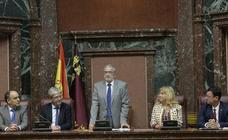 Constitución de la Asamblea Regional y elección de la Mesa