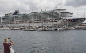 La cifra de cruceristas en Cartagena cae a la mitad en el mes de abril respecto a 2018