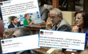 Las 'perlas' que deja en las redes sociales el nuevo presidente del Parlamento autonómico