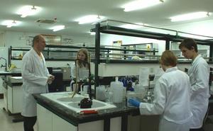 El SEF organiza ocho cursos de química con alta empleabilidad