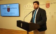 López Miras espera «prolongar» el acuerdo de la Mesa de la Asamblea para formar Gobierno